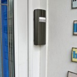 Wireless door intercom - neat external unit