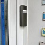 Wireless door intercom - neat external unit