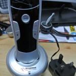 Wireless door intercom - easy to use handset